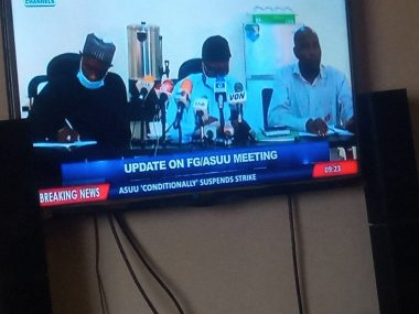 Breaking: ASUU suspends its 10-month-old strike