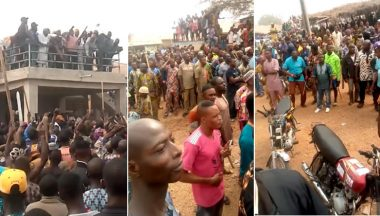 Residents Chase Fulani Herdsmen Out Of The State (Video)