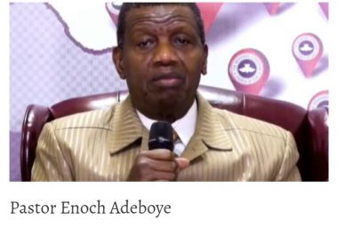 FG Suspends Adeboye's Helicopter