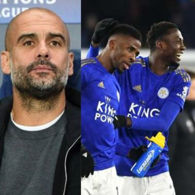 Pep Guardiola explains why he sold Kelechi Iheanacho to Leicester City