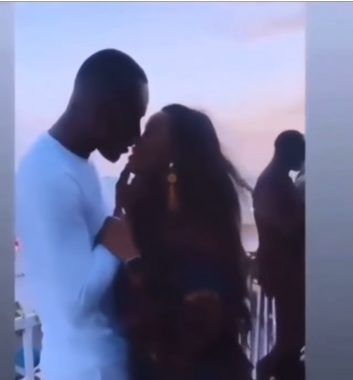 BBNaija's CeeC seen kissing actor Timini Egbuson (video)