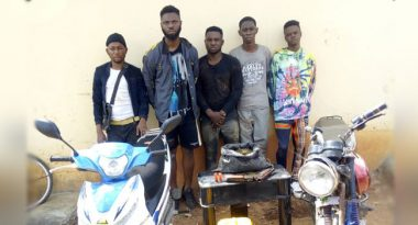 Five suspected cultists arrested at initiation ground (Photos)