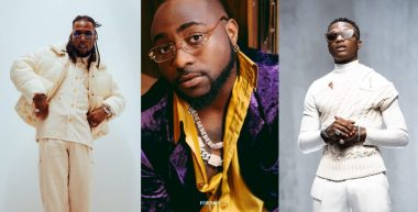 Burna Boy, Davido, Wizkid make Forbes Africa Icons list