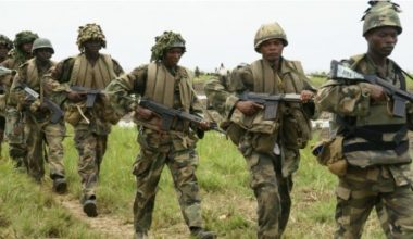 Nigerian Army Ranks and Monthly Salaries 2021