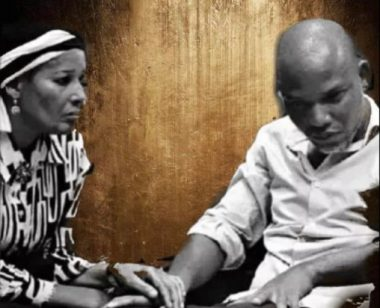Nnamdi Kanu Vows To Sacrifice Everything For Biafra After Sacrificing His Parents