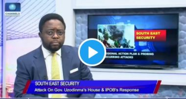 Watch IPOB Interview That Made FG To Suspend Channels TV (VIDEO)