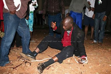 16-year-old boy beats pastor for grabbing his girlfriend's backside
