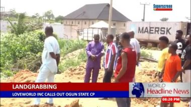 Breaking News: Unknown land grabbers take over Christ Embassy camp ground