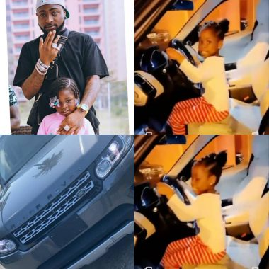 Davido gifts his daughter a Range Rover as birthday present (video)