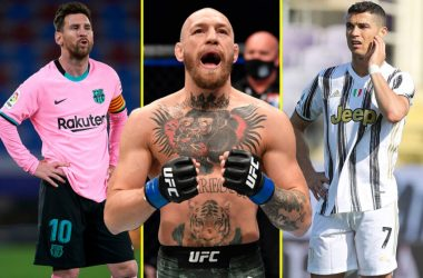 Conor McGregor name richest athlete ahead of Messi and Ronaldo