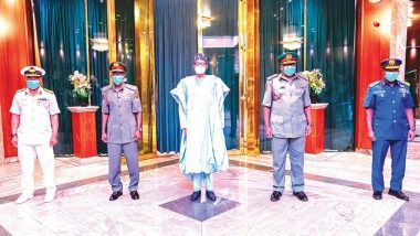 Nigerian military set to take over power from Buhari