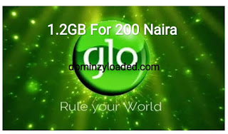 How to activate 200 Naira For 1.2GB On Glo