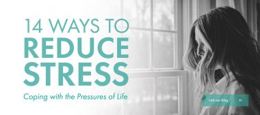14 Ways To Save Yourself From Stress