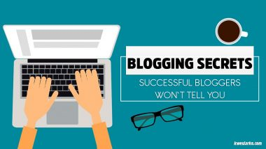 Top blogging secret most professional bloggers won't tell you