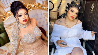 Bobrisky welcomes himself to womanhood, says he's finally removed his M******