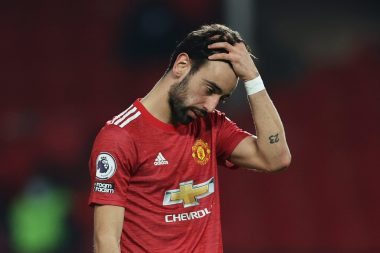 Bruno Fernandes cried all night as Man Utd lost to Liverpool