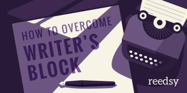 Steps to conquer an inability to write as an author