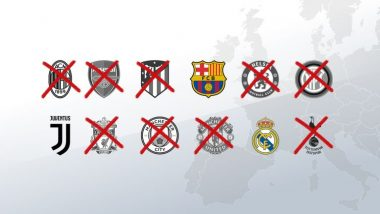 UEFA to ban Real Madrid, Barcelona, Juventus from Champions League for two years
