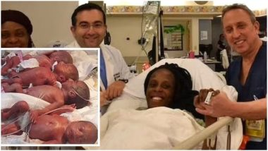 25-year-old woman gives birth to nine babies (PHOTOS)