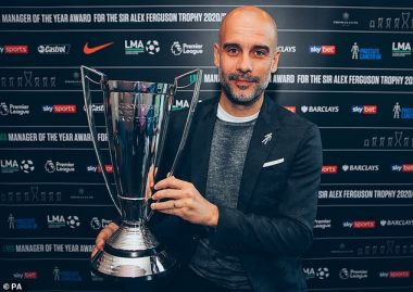Pep Guardiola Crowned LMA Manager Of The Year (See Full List)
