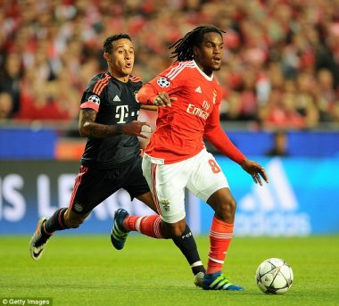 Arsenal tracking Renato Sanches (Read Full Details)