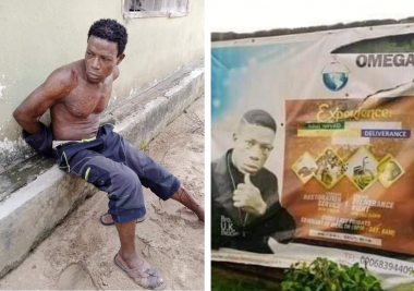 Pastor kills wife, buries corpse in shallow grave (Photos)