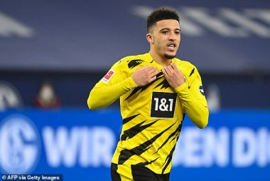 Manchester United to pay up Jadon Sancho's price of £77m