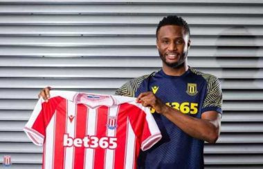 Mikel Obi signs new deal with Stoke City