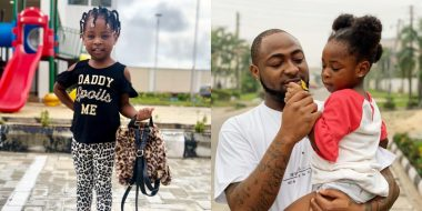 Davido takes his first daughter, Imade to school (Video)