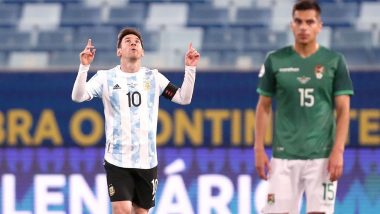 Copa America: Messi sets new Argentina record after 4-1 win (See New Record)