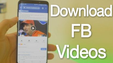 How To Download Facebook Videos To Your Phone