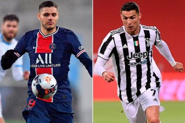 Ronaldo to be used in shock swap deal involving PSG's Icardi -See Transfer Details