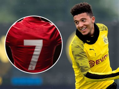 Sancho Wants Manchester United Number Seven Shirt, Give Reasons