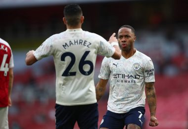 Man City puts up Sterling, Mahrez, seven other players for sale [Full list]
