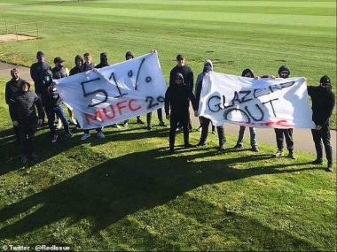Manchester United Fans Protest Against Club Owners (Photos/Video)