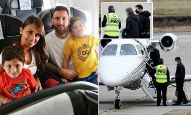 Bomb Scare: See What Happened To Messi's Private Jet In Argentina