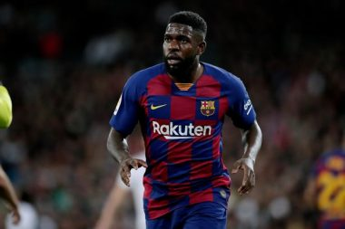 Arsenal And Man Utd Consider Umtiti - See The Outcome