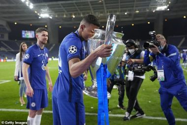How I Asked God To Help Chelsea Win The UCL- Thiago Silva Revealed