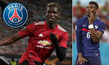 PSG Make Contact With Paul Pogba - See The Outside