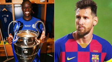 Kante tipped to win Ballon d'Or ahead of Messi - Read Full Details