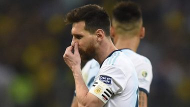 Messi To Face Possible Two Year Ban For Corruption Comments - Read Full Details