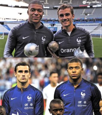 There Was Conflict Between Griezmann And Mbappe During The Euros - See Why
