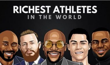 The 10 Richest Athletes In The World - See Full List