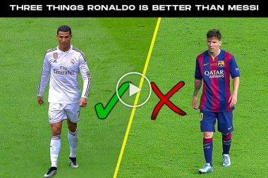 Things! Cristiano Ronaldo Does! Better Than Messi -Full List