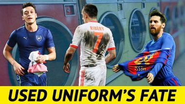 Read What Happens To Used Football Jerseys After A Football Match