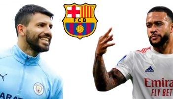 LaLiga bans Barcelona from registering Aguero, Depay, others - See Reason