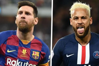 Neymar Offers His PSG Shirt To Lionel Messi - See Why