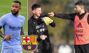 Aguero, Depay told to leave Barcelona after Messi's exit