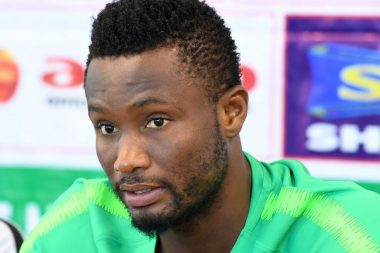 Mikel Obi unveiled by new club, to wear no 12 shirt