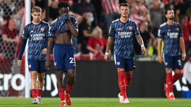 Arsenal to pay €1million after losing 2-0 to Brentford